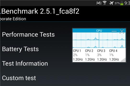 galaxy s4 benchmark
