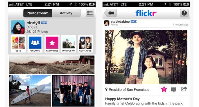 flickr ios