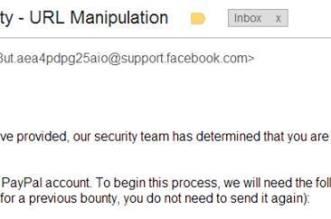 مكافاة ثغرة فيس بوك