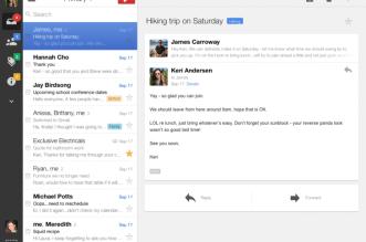 gmail ipad