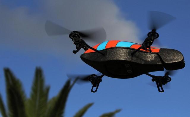 نموذج عن طائرات بدون طيار تستخدم للقرصنة