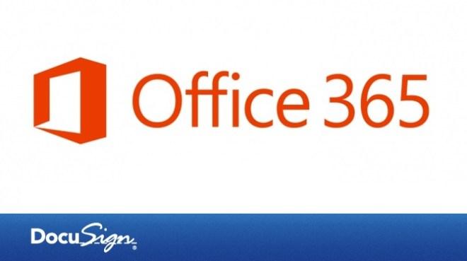 office 365 docusign