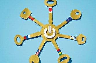 Aaron Tilley illustration of the seven keys of the internet