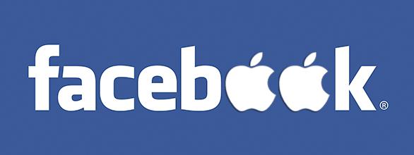 Facebook Apple logo صفقات استحواذ الكبار [2]