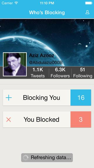 Who's Blocking