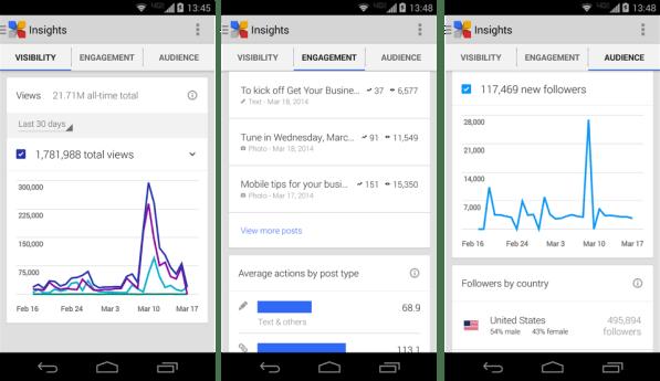 Insights Mocks - Mobile