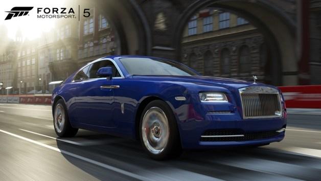Rolls RoyceWraith 03 WM Forza5 Aug CU كل ما كشفت عنه إكس بوكس في مؤتمر gamescom