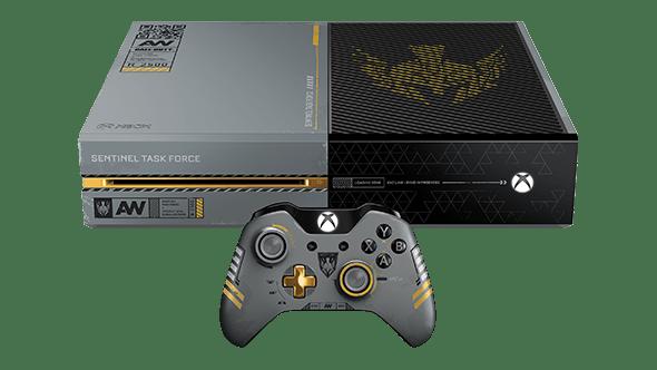 en intl l microsoft xboxone cod aw themed console 8mbb كل ما كشفت عنه إكس بوكس في مؤتمر gamescom