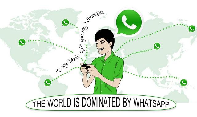 Whatsapp-domination