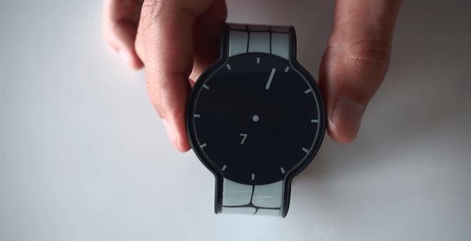 ساعة سوني الورق الإلكتروني
