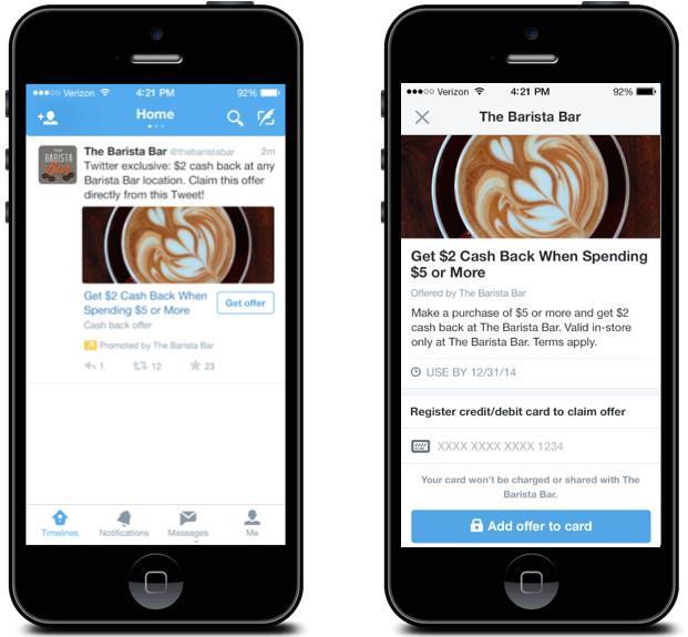 تويتر تتيح للمتاجر إدراج العروض الخاصة في التغريدات