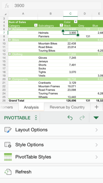 excel-for-iphone-pivottable