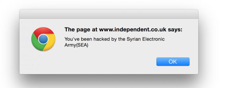 الجيش السوري الإلكتروني يخترق صحف بريطانية ومواقع أمريكية