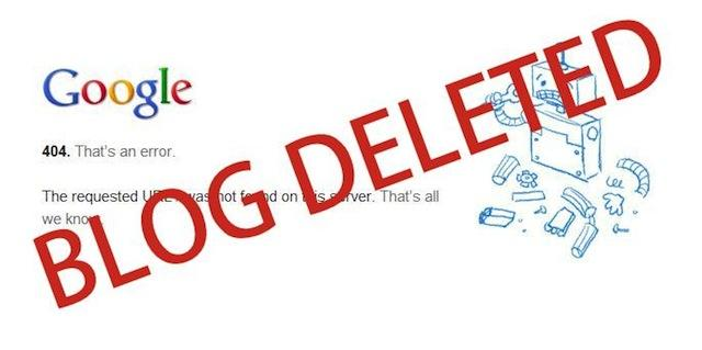 قوقل حظر بلوجر 23 مارس