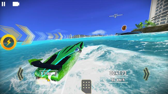 طرح اللعبة العملاقة Driver Speedboat Paradise على آيفون وآيباد
