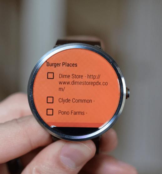 تحديث Google Keep يجلب تصفح الملاحظة على Android Wear