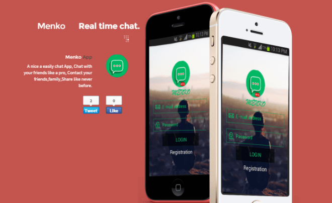 Menko Messenger لإجراء المحادثات والمكالمات الفورية على أندرويد