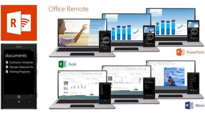مايكروسوفت تطرح Office Remote للتحكم بالعروض التقديمية في أندرويد