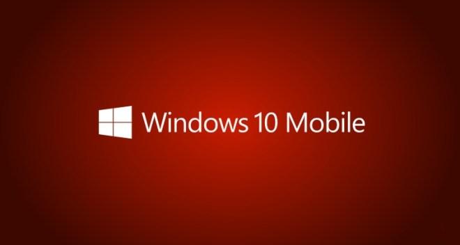 ويندوز 10 موبايل