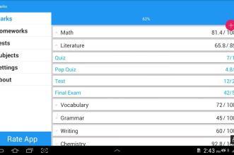 Mark & Homework تطبيق مهم للطلبة ليستفيدوا منه كثيرًا على أندرويد