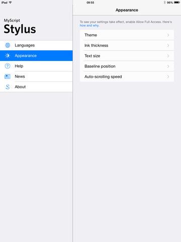 تطبيق MyScript Stylus للكتابة بخط يدك على iOS