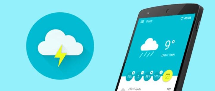 Wemple Weather تطبيق الطقس الجديد على أندرويد