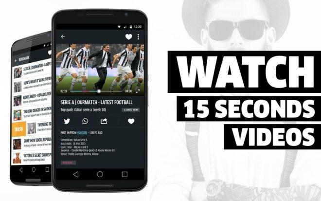 Minute Video Discovery يُجلب لك مخلص لمقاطع الفيديو المُفضلة