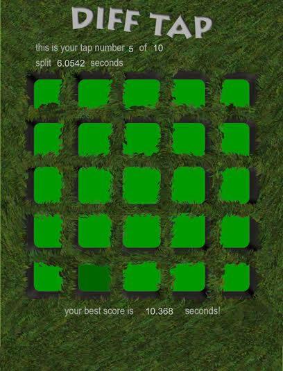 لعبة التركيز Diff Tap مجّانًا على أندرويد و iOS