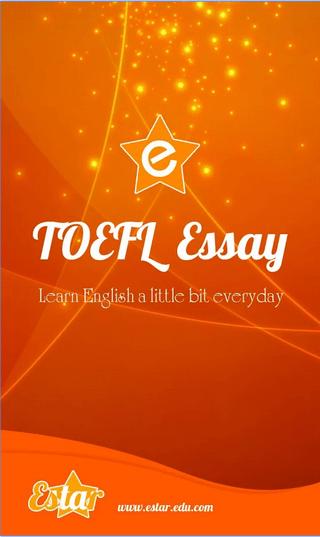 TOEFL Essay