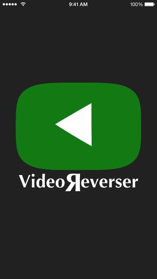 Video Reverser لعمل تأثير سينمائي على مقاطع الفيديو في iOS