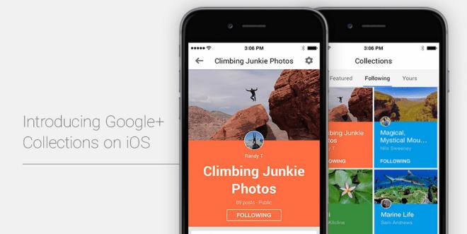 تحديث قوقل بلس على iOS يجلب ميزة المختارات
