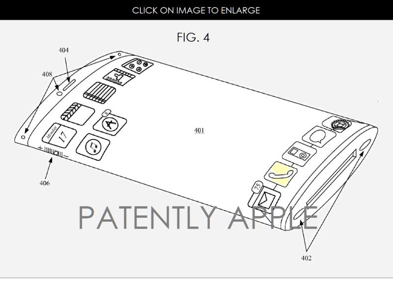 آبل تحصل على براءة اختراع تسمح بصنع آيفون بشاشة منحنية