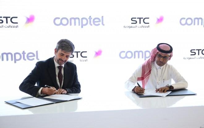 اتفاقية الاتصالات السعودية مع كومبيتل