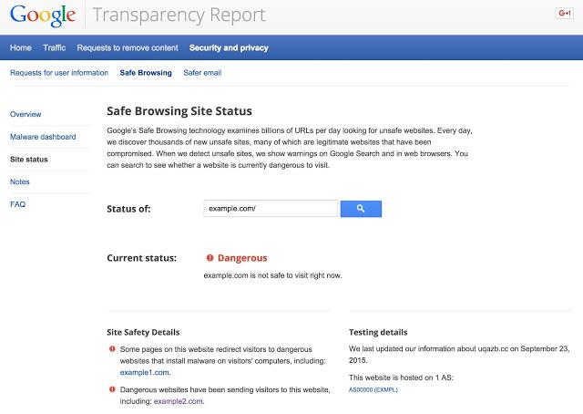 SiteStatus