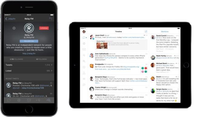 النسخة الرابعة من تطبيق Tweetbot تصل متجر أبل وستور