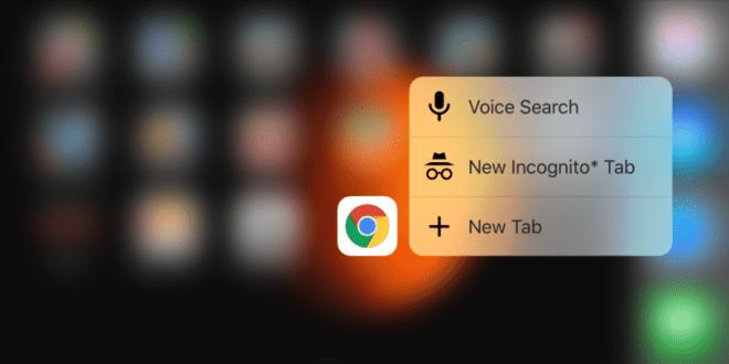 قوقل تطلق النسخة التجريبية من متصفّحها كروم على iOS