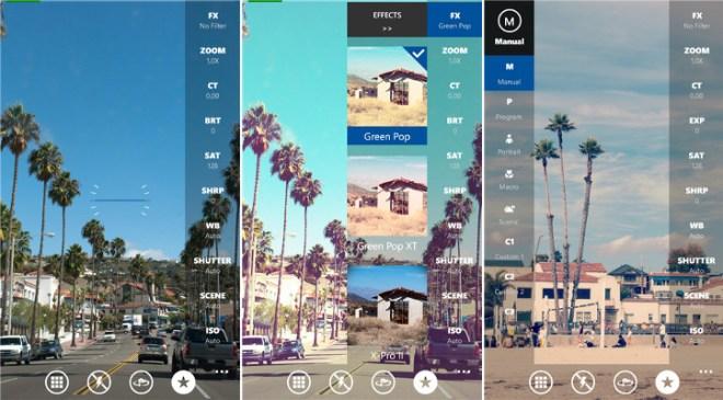 تطبيق التصوير ومعالجة الصور الإحترافي OneShot على ويندوز فون
