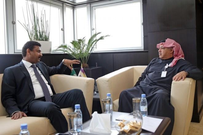 البياري يلتقى رئيس الاتصالات السودانية