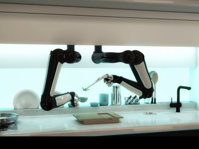 الروبوت الطباخ