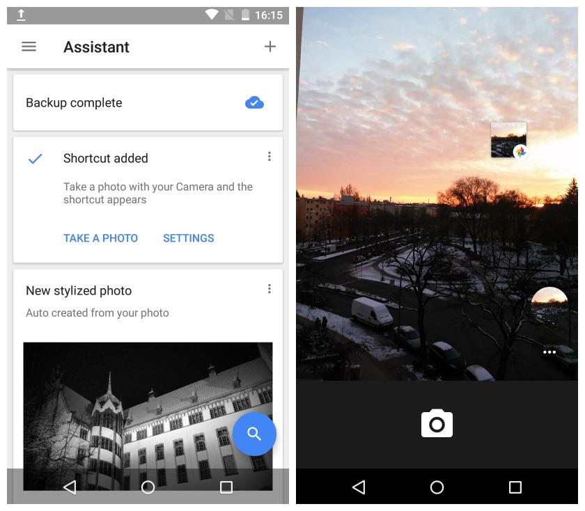 ميزة الربط بين تطبيقي كاميرا قوقل و صور قوقل متاحة للجميع في أندرويد