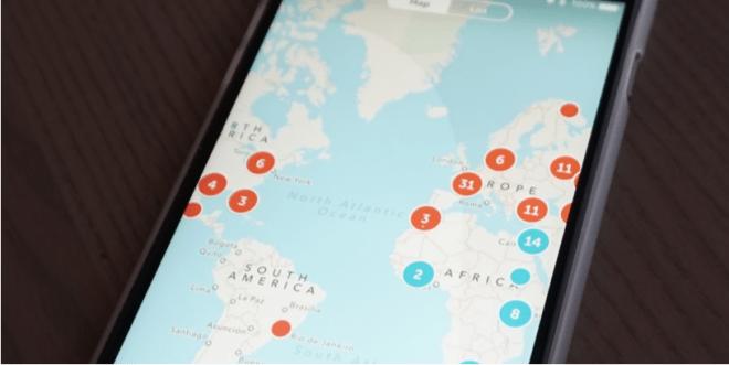 بريسكوب على iOS يجلب خاصية تتبع الشمس ببث حي