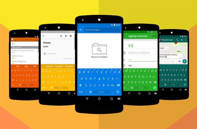 تحديث تطبيق لوحة المفاتيح Chrooma مع ميزة إقتراح الرموز التعبيرية وأكثر