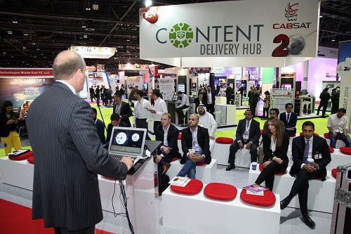 Live Content Delivery demos at CABSAT
