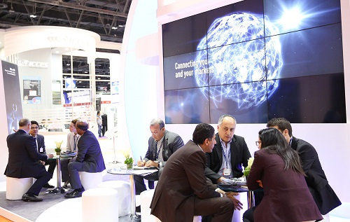 More than 700 meetings at the Global Meetings Lounge during CABSAT 2016