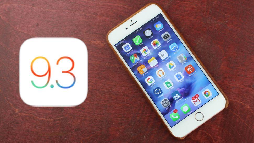 iOS 9.3 iPhone