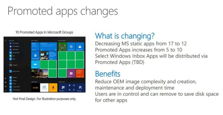 مايكروسوفت قائمة ابدأ إعلانات التطبيقات