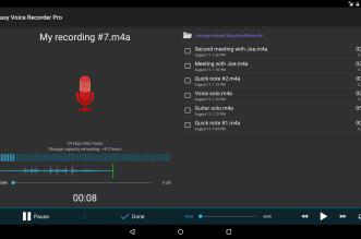 Easy Voice Recorder تطبيق قوي لتسجيل الأصوات على أندرويد