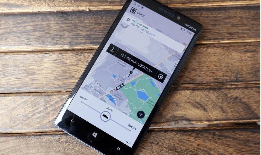 تحديث Uber على ويندوز 10 موبايل يجعل من السهل طلب وحجز سيارة أجرة