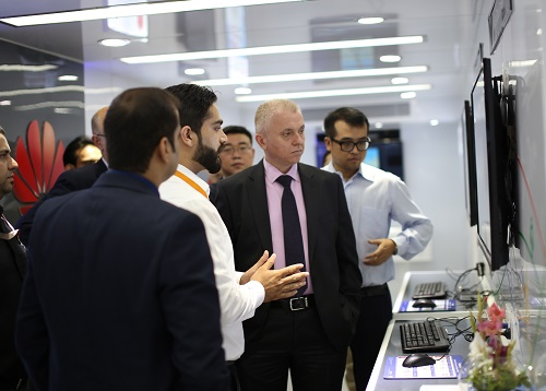 Demonstration Takes Place During Huawei's Regional Cloud Roadshow