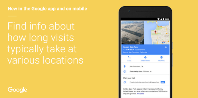 Google-Search-Location-Duration